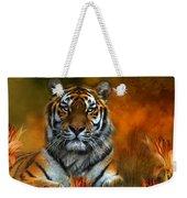 Wild Tigers Weekender Tote Bag