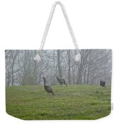 Wild Turkey Grazing At Dawn Weekender Tote Bag
