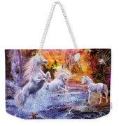 Wild Unicorns Weekender Tote Bag