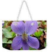 Wild Violet 2 Weekender Tote Bag