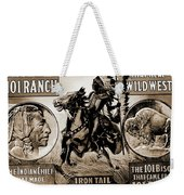 Wild West Poster Weekender Tote Bag