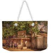 Wild West Sheriff Office Weekender Tote Bag