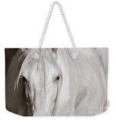 Wild White Horse Weekender Tote Bag
