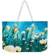 Poppies In The Blue Sky Weekender Tote Bag