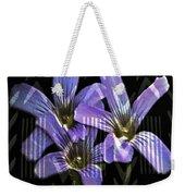 Wild Wildflowers Weekender Tote Bag