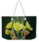 Wild Yellow Weekender Tote Bag