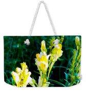 Wild Yellow Flowers Weekender Tote Bag