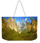Wild Yosemite - Abstract Modern Art Weekender Tote Bag