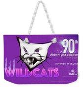 Wildcat 90 Logo Semi Comp4 Weekender Tote Bag