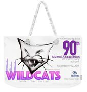 Wildcat 90th Anniversary Test Card Weekender Tote Bag
