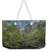 Wildcat Den Cliffs And Trees In Fall Weekender Tote Bag
