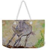 Wildebeest Weekender Tote Bag