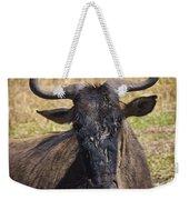 Wildebeest Taking A Break Weekender Tote Bag
