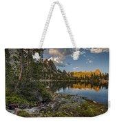 Wilderness Lake Weekender Tote Bag