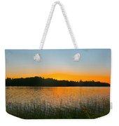 Wilderness Point Sunset Panorama Weekender Tote Bag