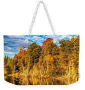 Wilderness Pond - Paint Weekender Tote Bag