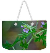 Wildflower 1 Weekender Tote Bag