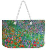 Wildflower Current Weekender Tote Bag