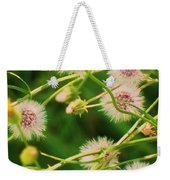 Wildflower Weekender Tote Bag
