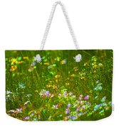 Wildflower Field Weekender Tote Bag