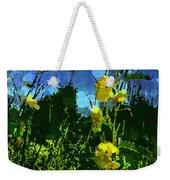 Wildflower Field Weekender Tote Bag