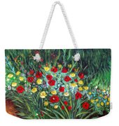 Wildflower Garden 1 Weekender Tote Bag