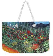 Wildflower Garden 2 Weekender Tote Bag