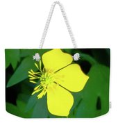 Small Sundrops Flower Weekender Tote Bag