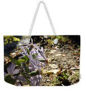 Wildflower Looker Weekender Tote Bag