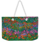 Wildflower Magic Weekender Tote Bag