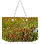 Wildflower Meadow With Indian Paintbrush Weekender Tote Bag