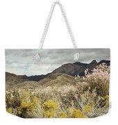 Wildflower Mountain Weekender Tote Bag by Andrea Hazel Ihlefeld