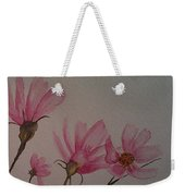 Wildflower Pink Weekender Tote Bag by Ginny Youngblood