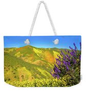 Wildflower Power Weekender Tote Bag