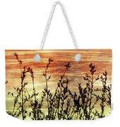 Wildflower Sunrise Weekender Tote Bag