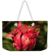 Wildflower Waratah Weekender Tote Bag