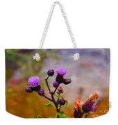 Wildflower Watercolour Weekender Tote Bag