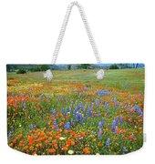 Wildflower Wonderland 4 Weekender Tote Bag