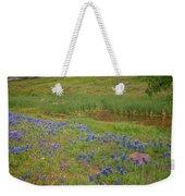 Wildflowers Along The Creek Weekender Tote Bag