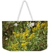 Wildflowers And Bee Weekender Tote Bag
