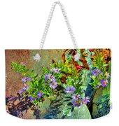 Wildflowers And Rocks Weekender Tote Bag