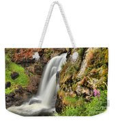 Wildflowers At Moose Falls Weekender Tote Bag
