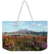 Wildflowers At Mount St Helens Weekender Tote Bag