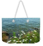 Wildflowers By The Lake  Weekender Tote Bag