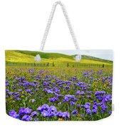 Wildflowers Carrizo Plain Weekender Tote Bag