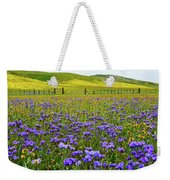 Wildflowers Carrizo Plain National Monument Weekender Tote Bag