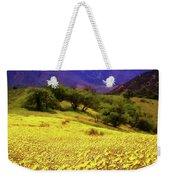 Wildflowers In The San Emigdio Mountains Weekender Tote Bag