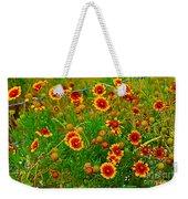 Wildflowers On The Barb Weekender Tote Bag