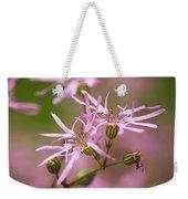 Wildflowers - Ragged Robin Weekender Tote Bag