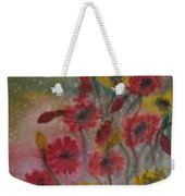 Wildflowers Still Life Modern Print Weekender Tote Bag